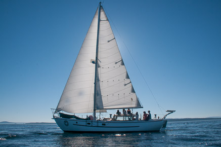 Sailing Vessel Peniel, San Juan Islands, All Aboard Sailing