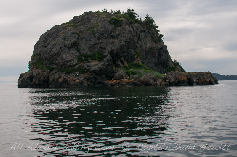 South of Lopez Island