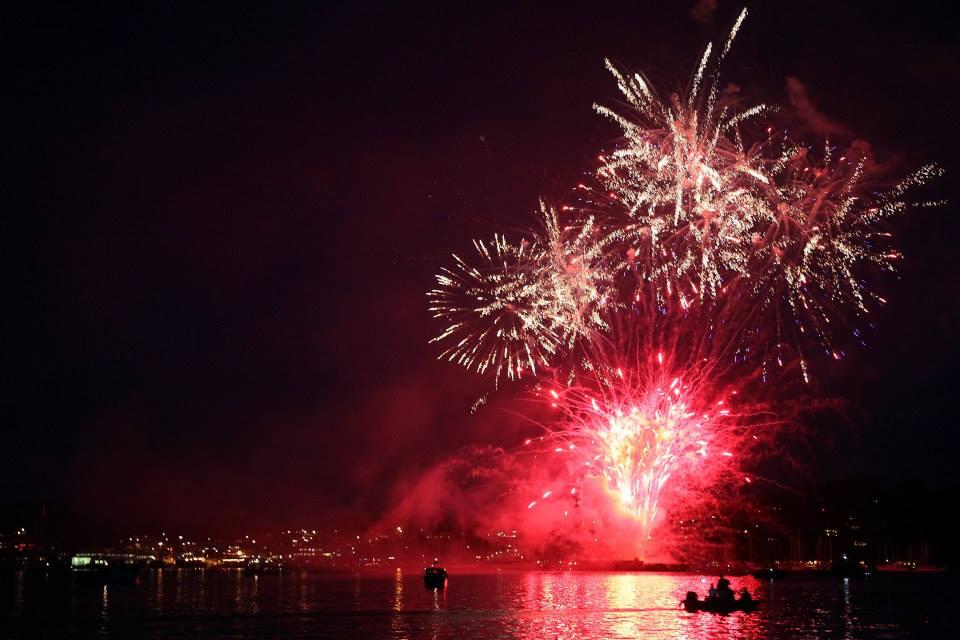 Friday Harbor Fireworks