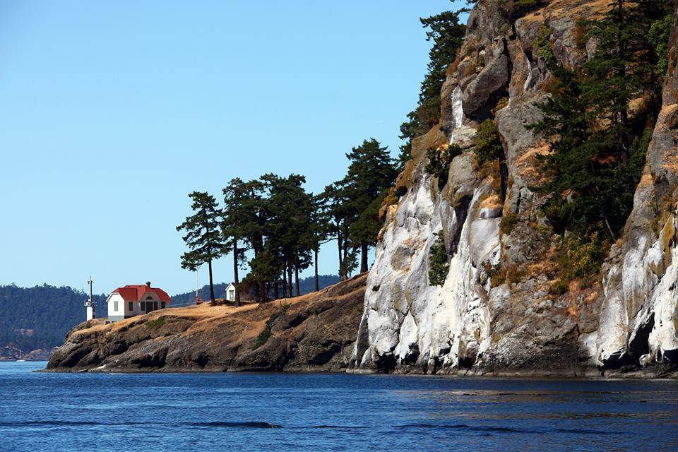 Lovers Leap, Stuart Island Lighthouse