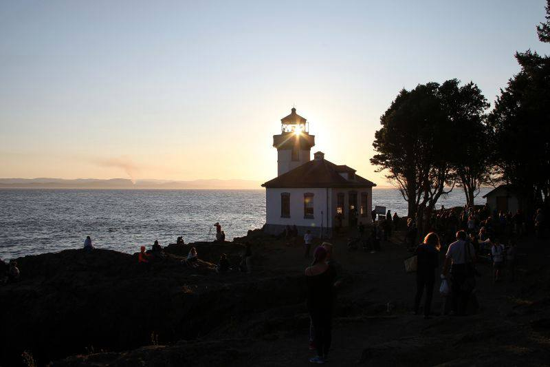 Superpod event at Lime Kiln Point State Park