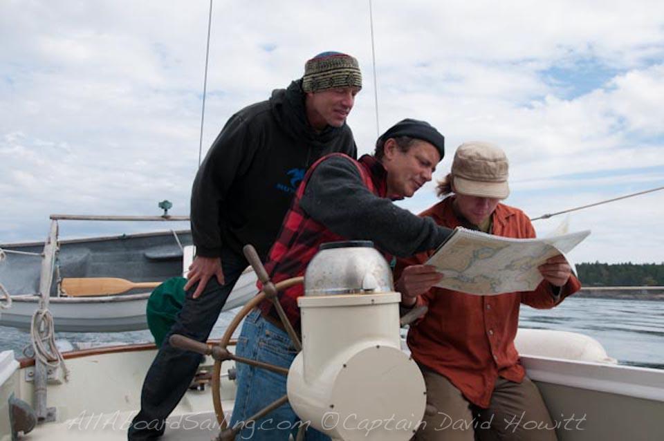 All Aboard Sailing, Captain David Howitt