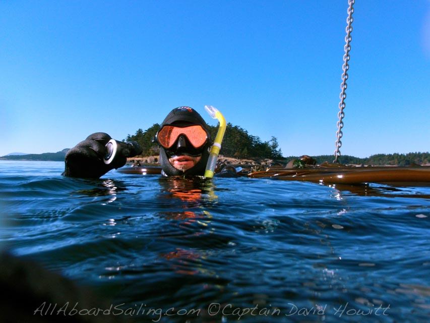 Dive San Juan Islands, Sailing Vessel Peniel, All Aboard Sailing