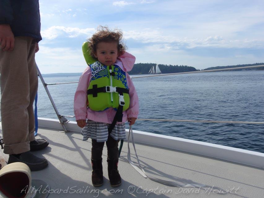 All Aboard sailing San Juan Islands