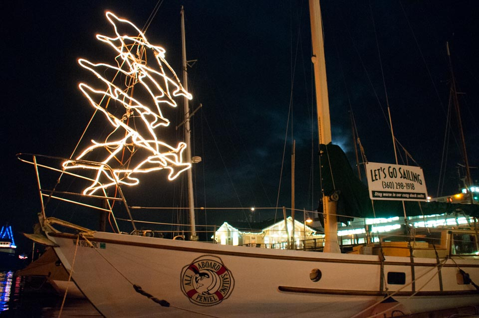 Sailing Vessel Peniel, San Juan Islands, All Aboard Sailing