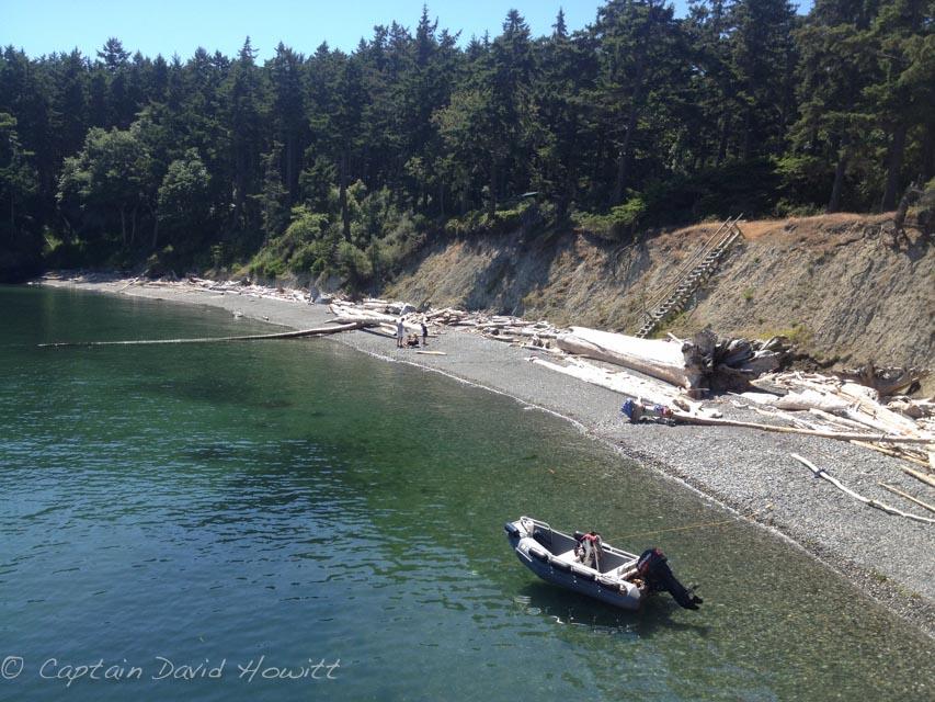 South Lopez Island beaches