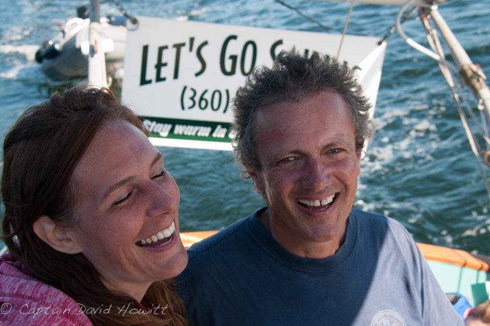 Captain David Howitt and Naturalist Captain Barbara Bender