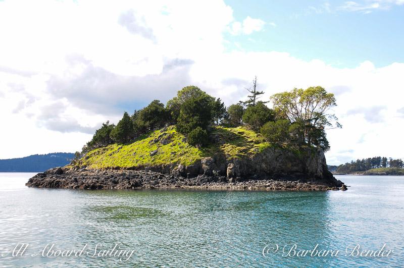 Sailing San Juan Islands