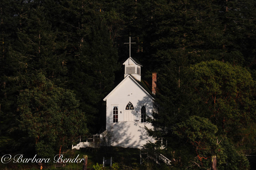 Our Lady of Good Voyage Chapel, Roche Harbor, Washington
