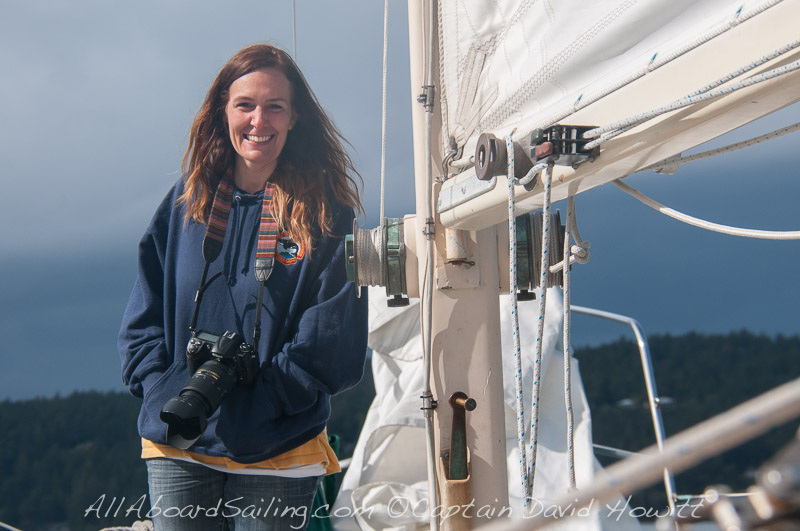 Barbara, All Aboard Sailing Naturalist