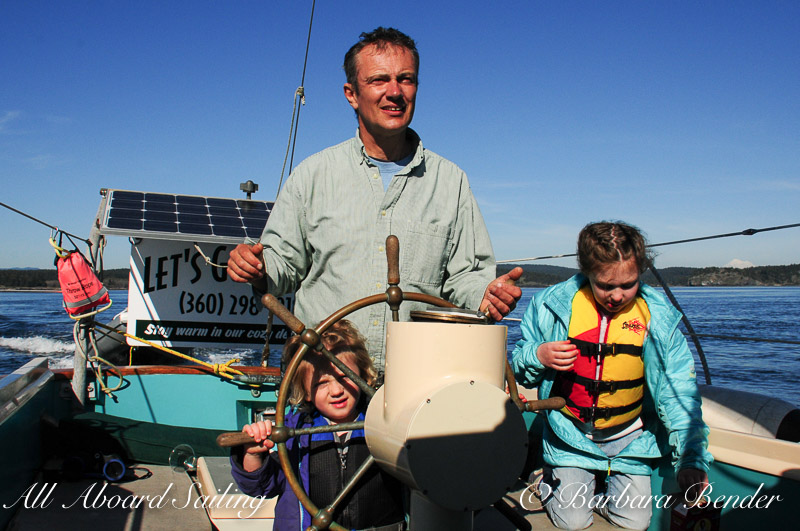 All Aboard Sailing family activity