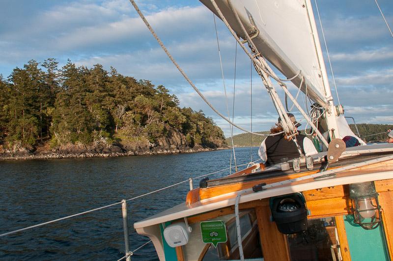 san juan island sailing