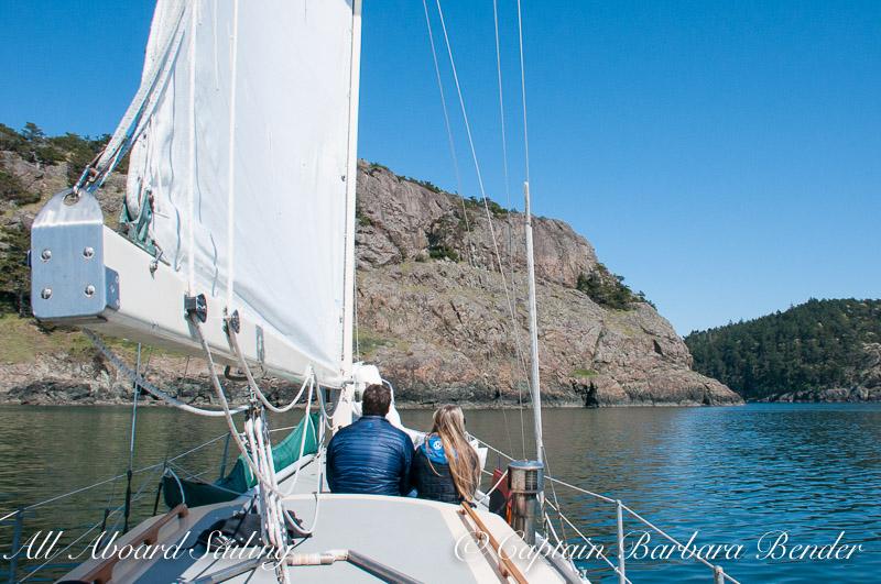 Sailing Mc Ardle Bay Lopez, San Juan Islands