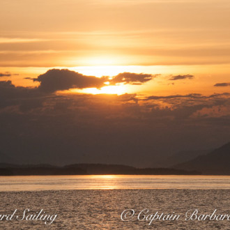 Sunset Barbecue Drift Sail