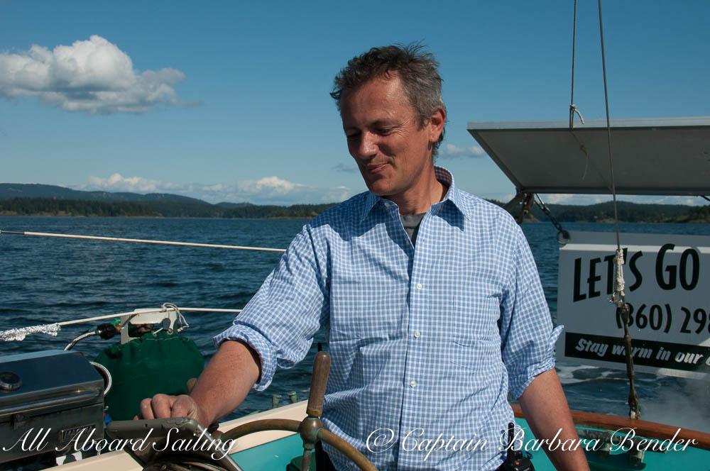 Captain David Howitt - Thanks Mom for the new shirt