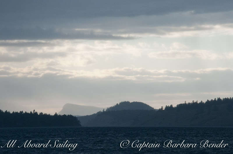 Tip Top Stuart Island and Saltspring Island distant