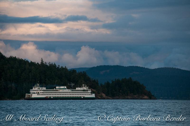 Wa state ferry to San Juan Island