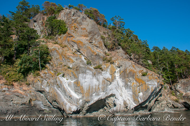 Lovers Leap, Stuart Island