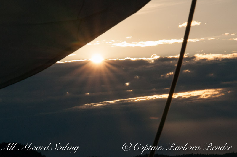 Summer Solstice sunset sail