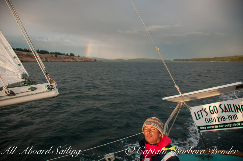 Captain David Howitt and Rainbow