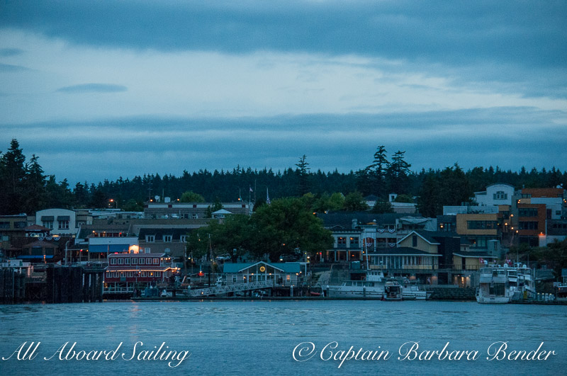 Friday Harbor at Twilight