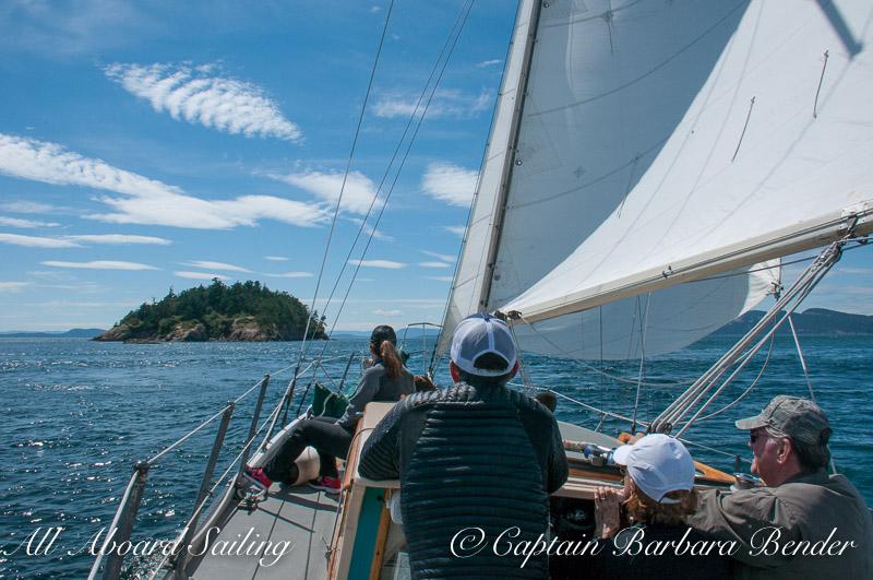 Sailing to Skipjack Island