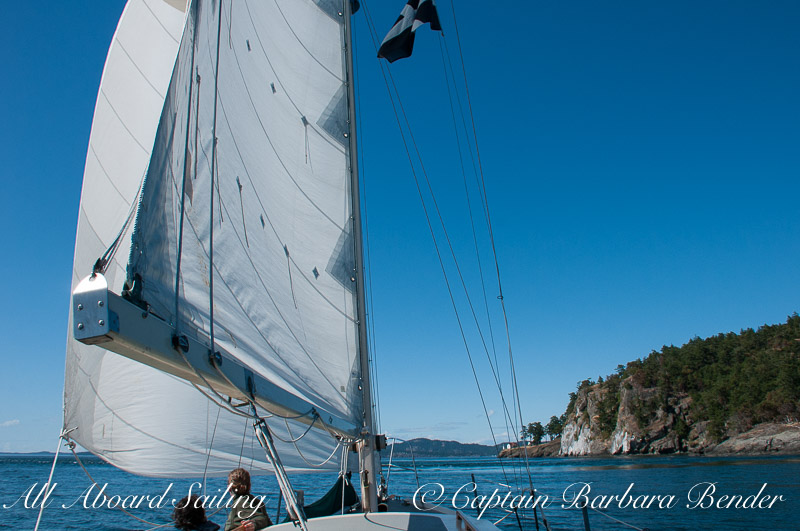 Sailing to Lovers Leap