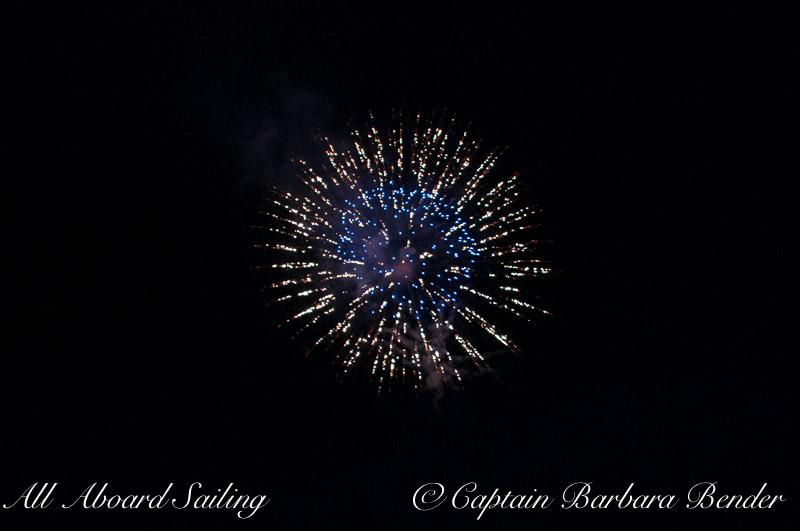 eyeball Fireworks - Deer Harbor, Orcas Island