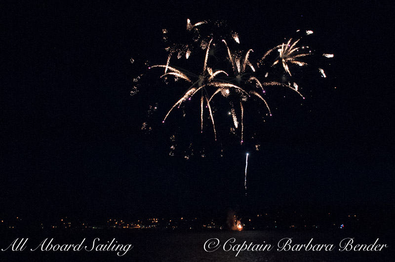 Sailing charter for the  July 4th Friday Harbor Fireworks