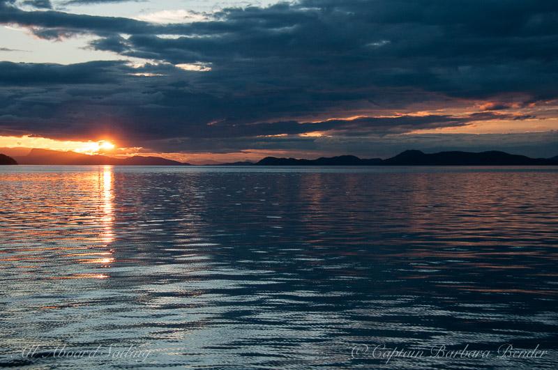 Sunset San Juan Island