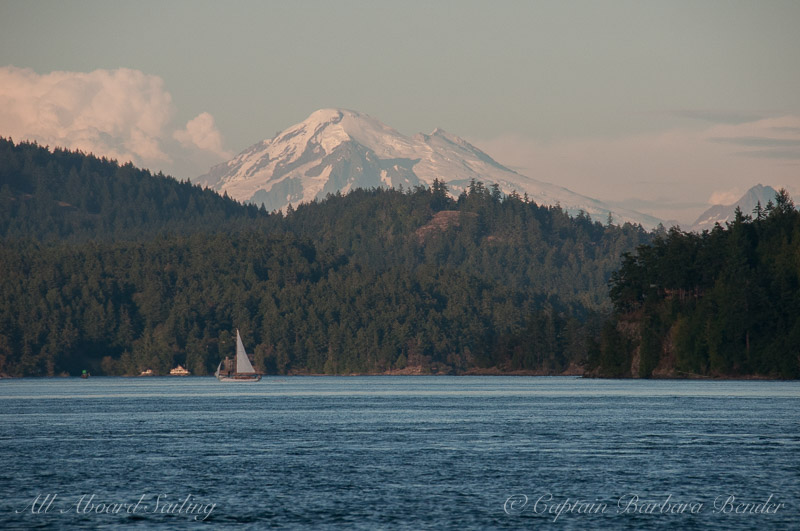Mount Baker, Upright head Lopez Island