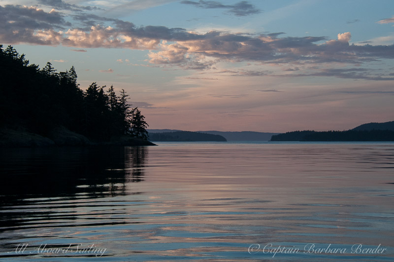 Twilight San Juan Islands