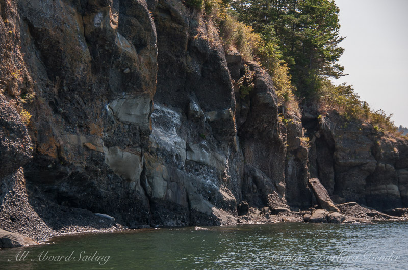 Fruitcake geology of Flattop Island