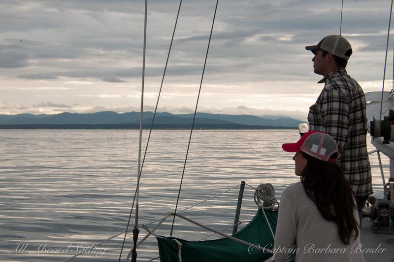 Honeymoon Sunset sail