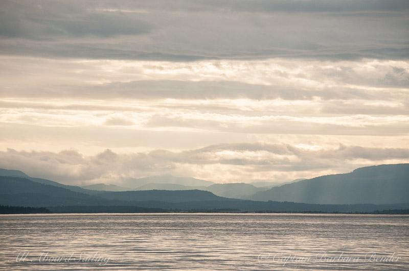 Sunset over Haro Strait