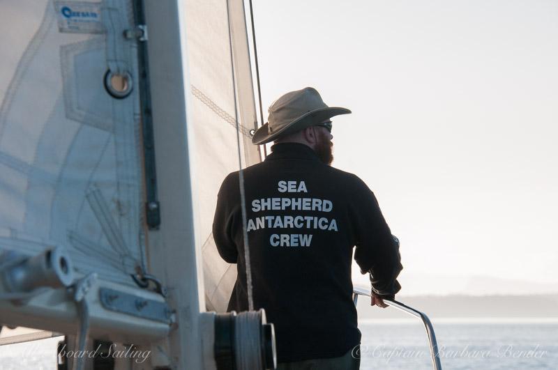 Sea Shepherd Crew on Board