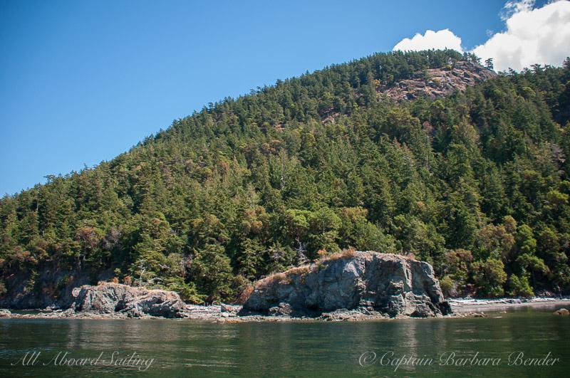 Head of Turtle Back Mountain, Orcas Island