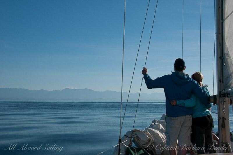 Sailing Whale watching San Juan Islands