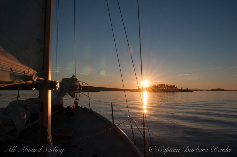 Sunset Yellow Island