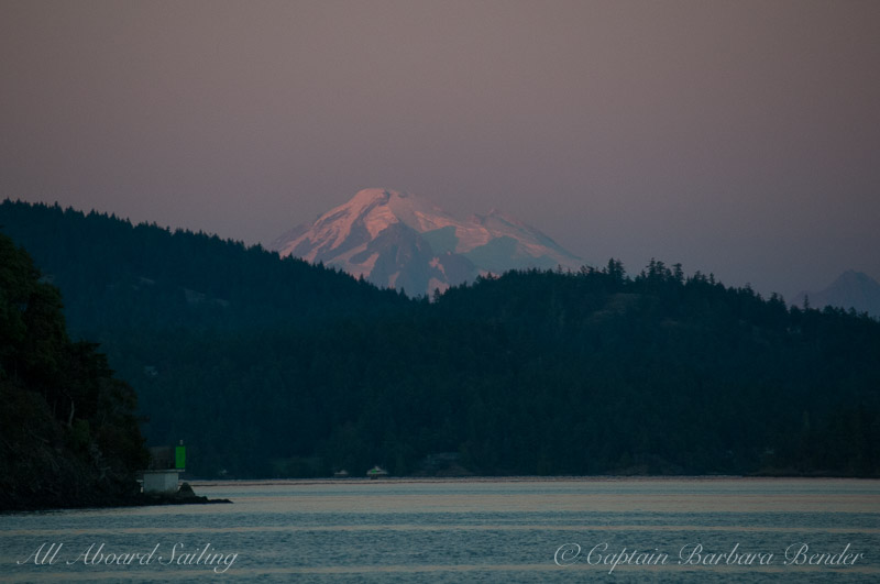 Mt Baker at twilight