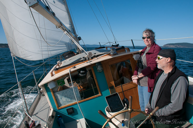 Sailing from Friday Harbor