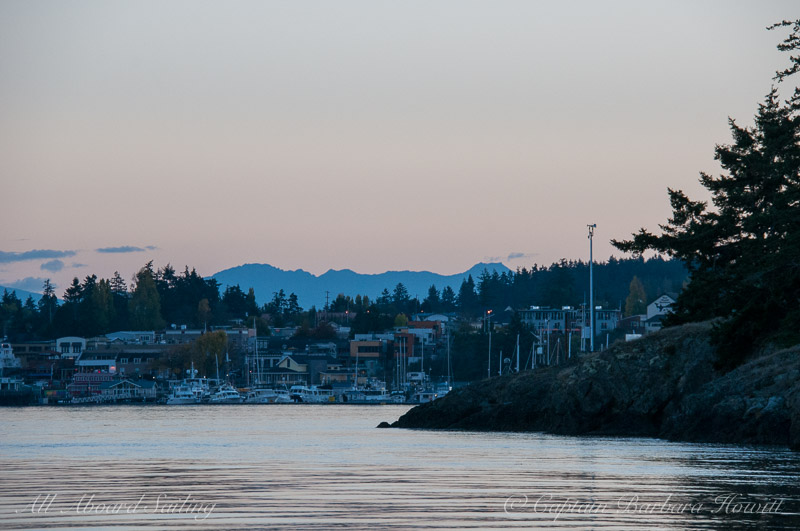 Returning to the Port of Friday Harbor