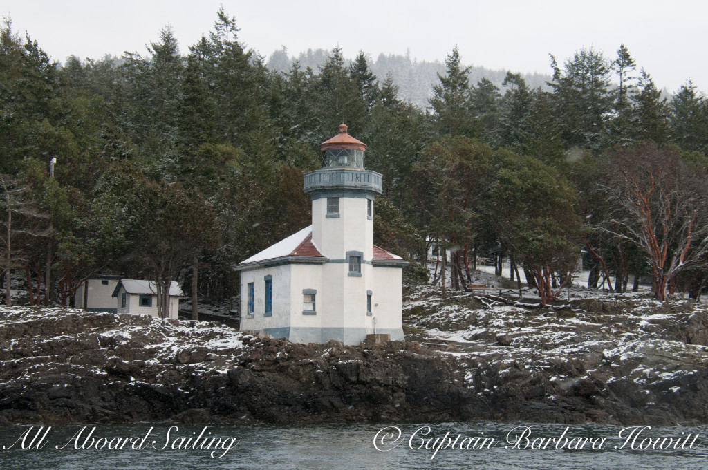Lime Kiln Point State Park Lighthouse