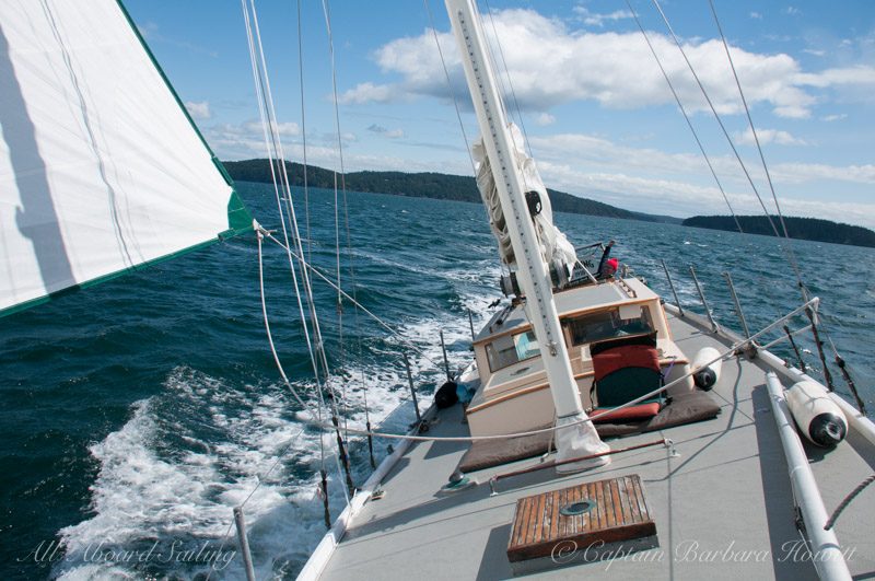 Sailing in the San Juan Islands