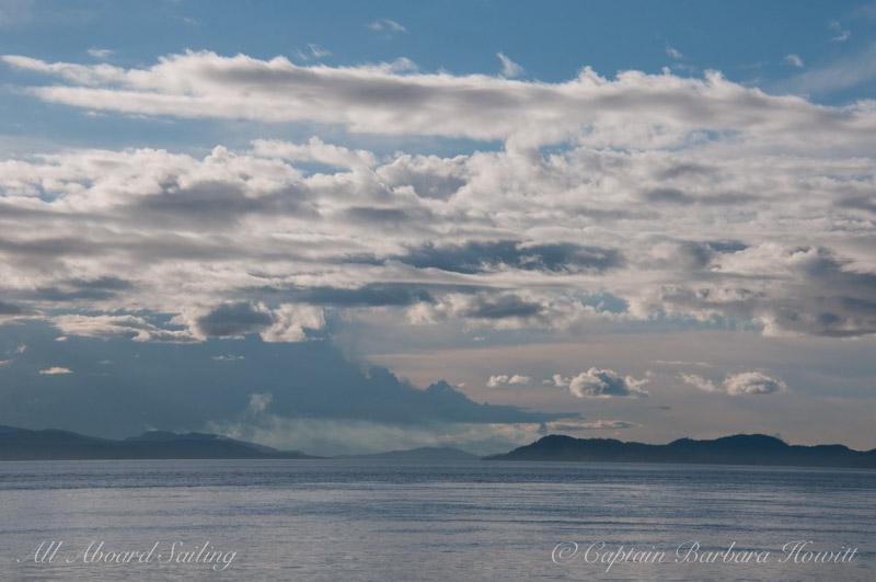 Boundary Pass skyscape