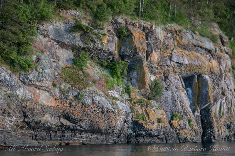 Beautiful Flattop Island full of colors