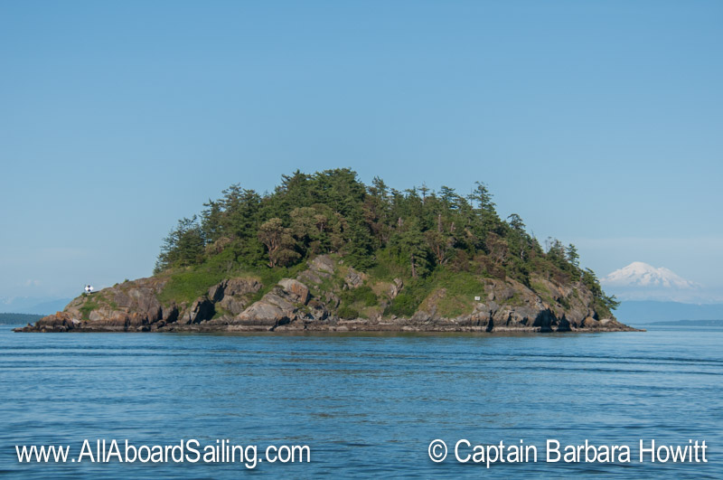 Skipjack Island and Mt Baker