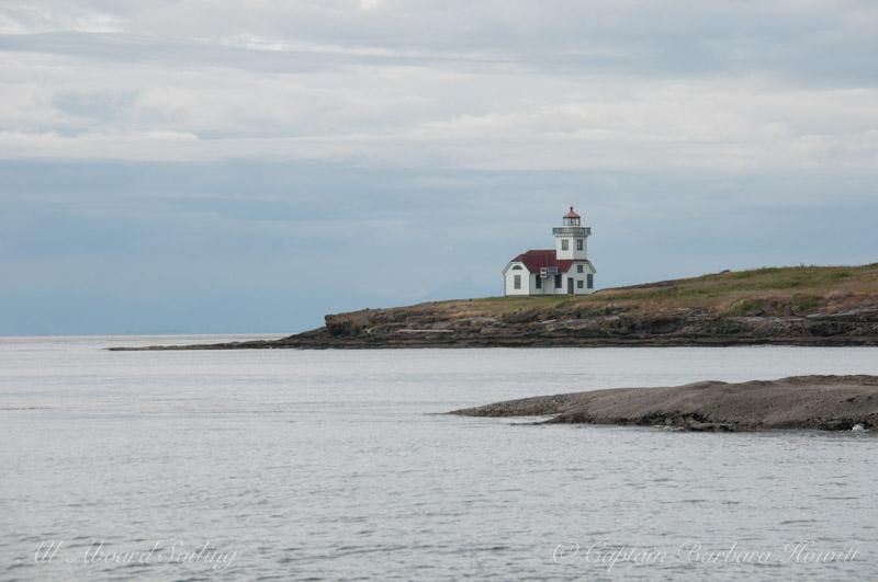 Alden Point Lighthouse, San Juan Islands Sailing charters