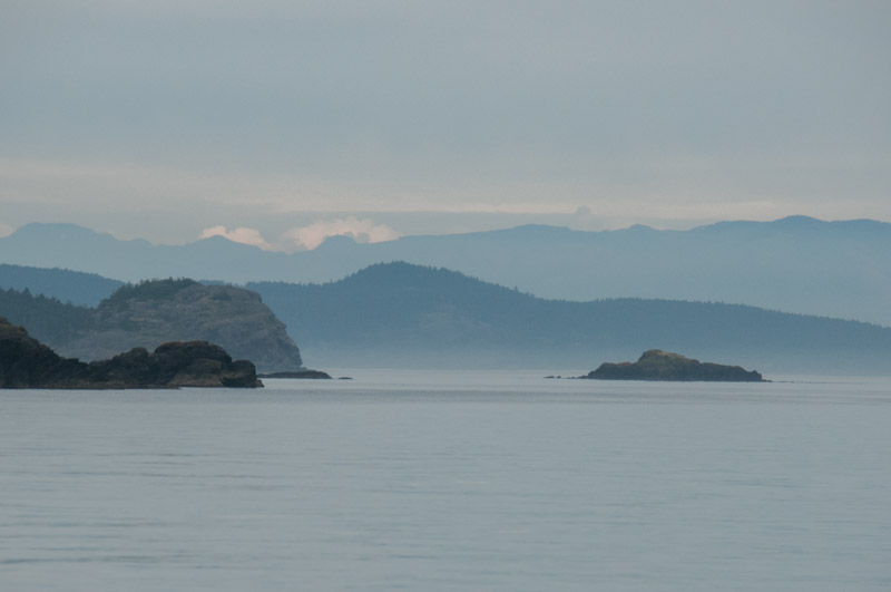 Layers near Lopez Island
