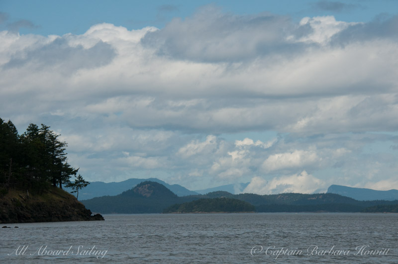 Tip Top Mountain Stuart Island and the Cactus Islands through New Channel
